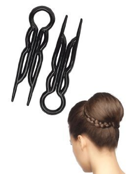 (Good Hair Days Set of 10 Magic Grip Hair Pins - Black )
