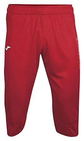 Joma, Pantalon Pirata Vela Rojo para Hombre: Amazon.es: Deportes y aire libre