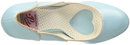 Couture Couture B Delle Ecopelle Pinup Smitten 04 Blue Donne Pompa Faux Women's Percosso Blu 04 B Pinup Leather Pump dxSpqwHd8