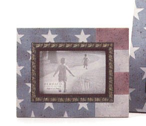 Heartstone by Demdaco - American Flag Photo Frame - 77705