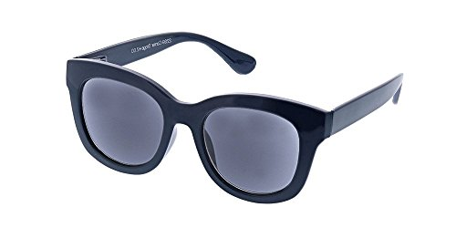 Peepers Women's Center Stage Sun 0.00 Polarized Round Sunglasses, Navy, 47 - Sunglasses Navy Blue