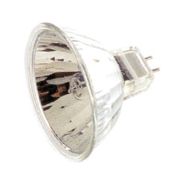 Ushio 1000445 Light Bulb, 75W MR16 GU5.3 Base Halogen Wide Flood 1.77 MOL - Dimmable - 3000K - 1025 Lm. (EYC/60,...