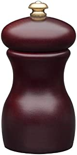 product image for Fletchers' Mill Marsala Collection Pepper Mill, Mahogany Stain - 4 Inch, Adjustable Coarseness Fine to Coarse, MADE IN U.S.A.