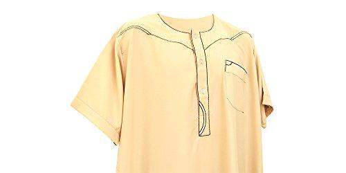 Taybe-Arabic-Dress-Long-Top-Shirt-Thobe-Dishdash-Jubba-Islam-Muslim-Mens-Eid-Boy