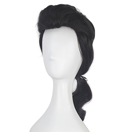 Miss U Hair Men Boy Short Wavy Brown Braid Wig Adult Costume Cosplay Party Wig -