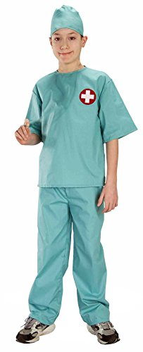 Forum Novelties Doctor Surgical Scrubs Child's Costume, Medium ()