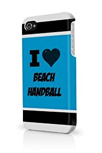 Beach Handball Blue iPhone 5/5S Case - For iPhone 5/5S - Designer PC Case