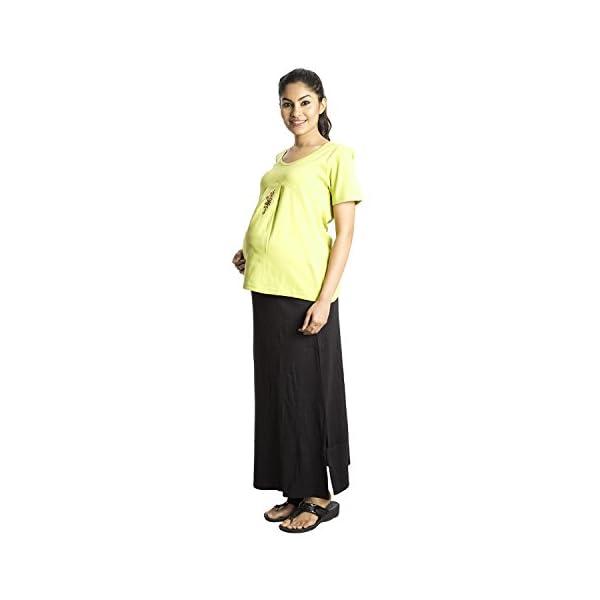 Zeme Organic Cotton Maternity Long Skirts Online India