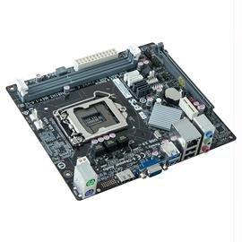 ECS Motherboard H81H3-M4 LGA1150 H81 2x DDR3 1600 PCI Express SATA USB microATX Electronics