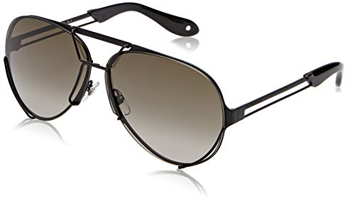 Sunglasses Givenchy 7014/S 0003 Black / ND brnsfmat yelblu lens