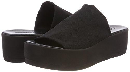 black Neva Nero Ciabatte Slide Esprit Donna YHS1nq