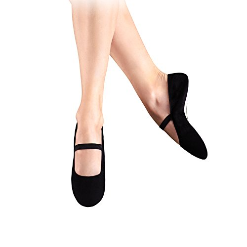 Leo Womens Imported Gym Pump Dance Shoe Black CFmov
