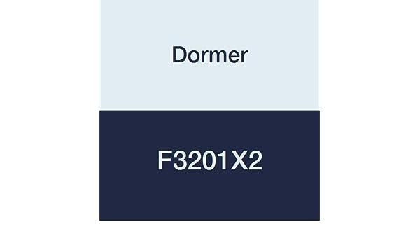 Diameter 2 Height 5//8 Split Type Dormer F3201X2 Round Adjustable Dies UNC1 Bright Nominal D 25.4 mm High Speed Steel