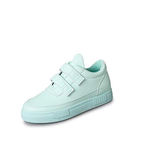 poliuretano Sneakers Punta Blu PU Rosa piatto ZHZNVX Tacco Scarpe donna Verde da Black rotonda Comfort Spring vSS0qIW