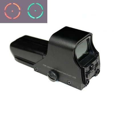 Amazoncom Element 552 Style Tactical Holo Style Red Dot Sight