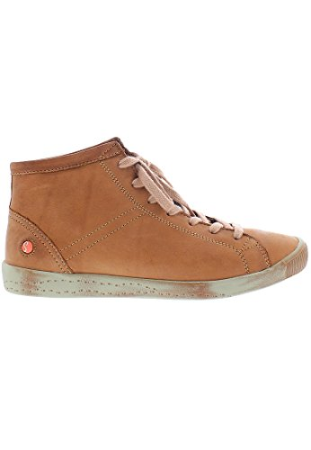 rot Softinos Washed Sneaker Damen Braun Isleen 045 Brick Hohe Leather aaS4YZ