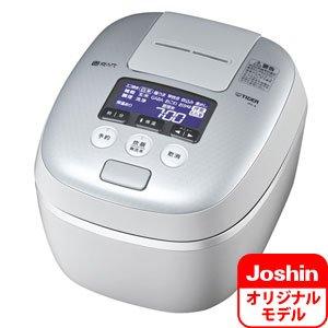 タイガー 圧力IH炊飯ジャー(5.5合炊き) ホワイトグレーTIGER 炊きたて JPC-A101のJoshinオリジナルモデル JPC-A10J-WH