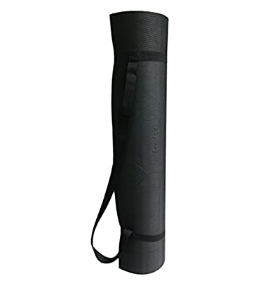 "My Eco Yoga Mat: Extra Wide 30"" - 2.8 lbs - Extra Thick 8mm - Extra Long 74"" - Environmentally Friendly Yoga and Pilates Mat w/ Strap"