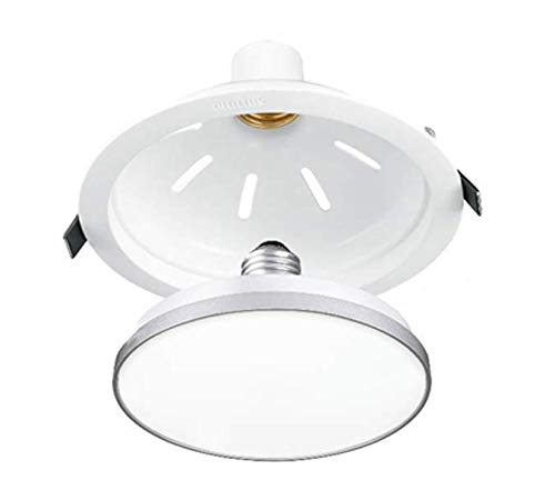 Philips 9W CeilingSecure Downlighter  Cool White, Round  LED Bulbs