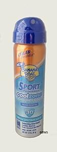Amazon.com: Banana Boat Sun Screen Sport Spray SPF 30 UltraMist ...