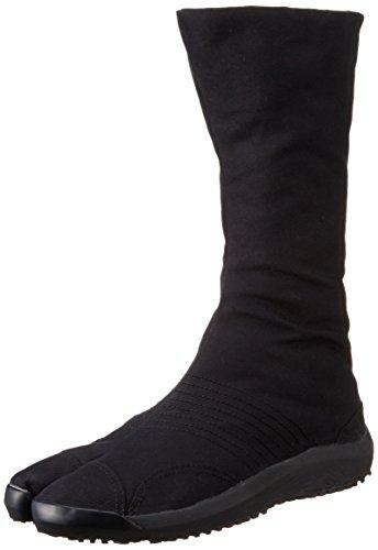 Noir Ninja montantes 12 Japon Importe Jog air Du marugo De Clips Semi Jikatabi Chaussures Air 6Fqp5