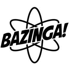Bazinga Atom JDM Drift Big Bang Vinyl Decal Sticker|BLACK|Cars Trucks Vans SUV Laptops Wall Art|5.5