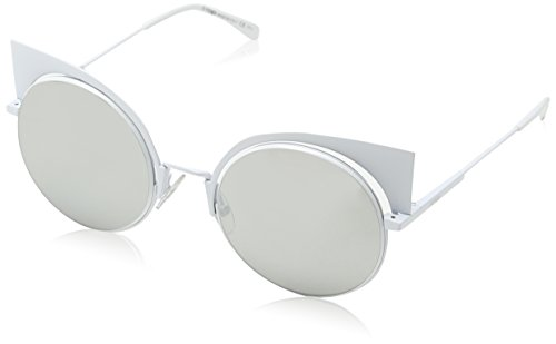 FF Silver Sonnenbrille Speckled Fendi Blanco S White Grey Grey 0177 6Ux5aqp