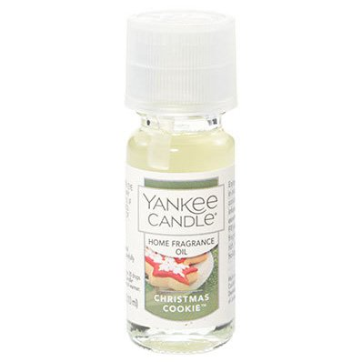 Yankee Candle Christmas Cookie Fragrance Oil, Festive Scent ()