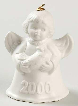 Goebel ** 2000 Annual Angel Bell - White ** 102739
