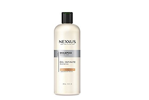 Nexxus Oil Infinite Frizz Defying Shampoo, Babassu and Marula Oil, 25 Ounce