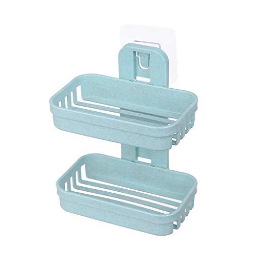 HOLD HIGH Bathroom Shelf, Rectangle Double Bath