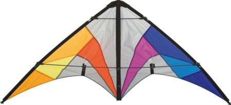 HQ Kites and Designs Quickstep II Beginner Sporting Kite, Chroma, Outdoor Activities For Ages 10 Years and up (Best Beginner Stunt Kite)