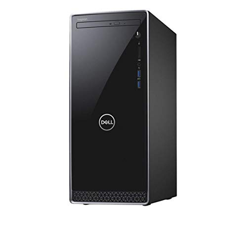 2018 Dell Inspiron Business Desktop Computer, 8th Gen Intel Quad-Core i3-8100 3.6GHz(Beat i5-7400), 8GB DDR4 RAM, 1TB HDD, DVDRW, Bluetooth 4.0, USB 3.1, HDMI, Keyboard & Mouse, Windows 10 Home