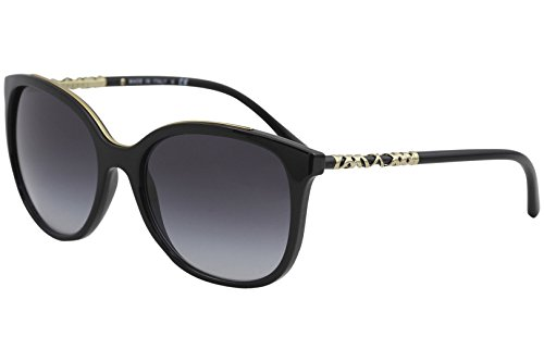 Burberry Women's 0BE4237 Black/Gray Gradient Sunglasses by BURBERRY