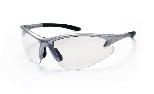 sas-safety-540-0500-db2-eyewear-with-polybag-clear-lens-silver-frame-by-sas-safety