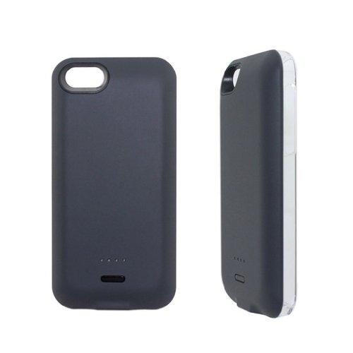 G4GADGET® 2200mah Power External Battery Black Case for Iphone 5/5S/5C