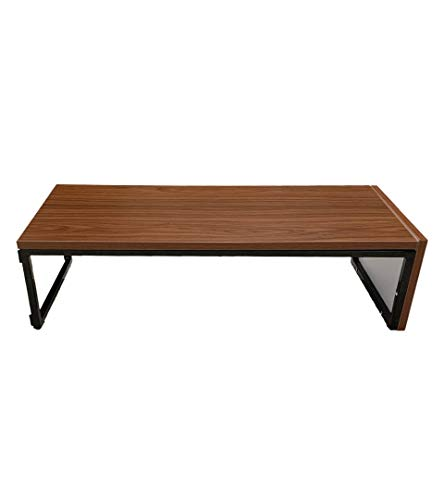 INVISIBLE BED - Multipurpose Table: Lapdesk/Study Table for Students/Kids Desk/Work Desk/Monitor Stand/Stool/Laptop Desk for Bed/Sofa/Floor (Color: Canadian Walnut)