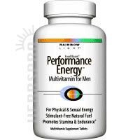Rainbow Light Perf Energy Mul Men