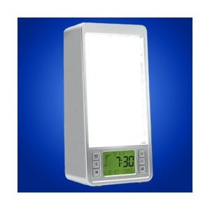 Natural Dawn Simulator Alarm Clock Light Box ()