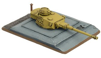 Flames Of War Panzer Iv Turret Bunker (1 Turret Bunker, Late War, Ge684)