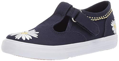 Keds Girls' Daphne Sneaker Navy Daisy 090 Medium US Toddler