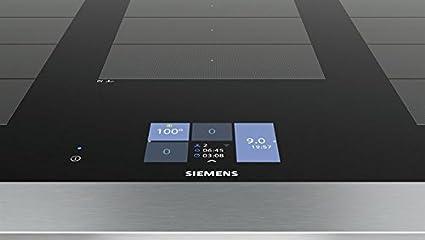 Siemens ex901kxw1e herd elektro einbau 89 2 cm brat sensor
