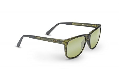 Maui Jim Unisex Tail Slide Matte Green Stripe - Maui Wayfarer Jim