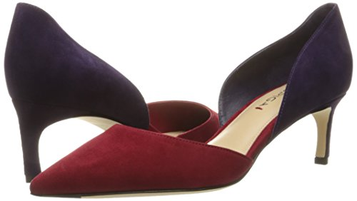 Via Spiga Women's Ava D'Orsay Pump, Red Purple, 8 M US
