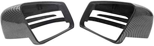 Replacement Wing Mirror Cover For Benz C Class W204 E W212 CLS C218 GLA X156 Automotive Rearview Mirror Cover Carbon Fiber 1 Pair Exterior Mirrors 814