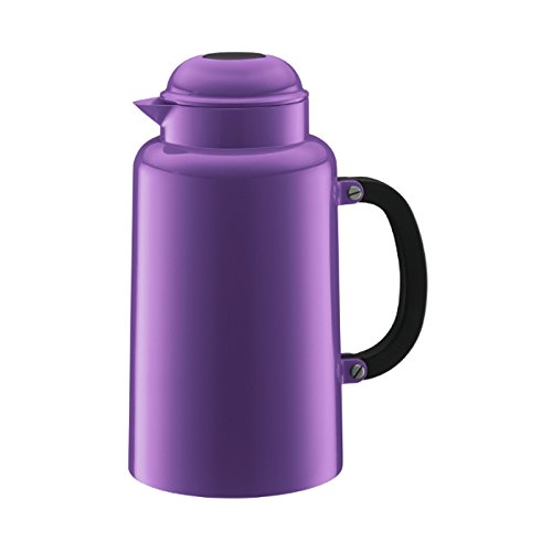 Bodum Chambord 34-Ounce Thermo Double Wall Vacuum Carafe, Purple, One Size