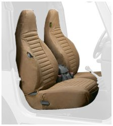 Bestop 29226 37 Spice Front High Back Seat Cover Set For 1997 2002 Wrangler