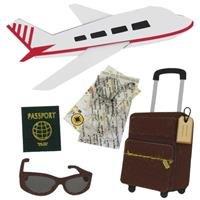Airplane Travel 3-D Sticker EmbellishmentsNew by: ()