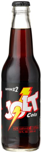 """Jolt COLA LONGNECK -""""yes, they still are making it"""", 12-Ounce Glass Bottle (Pack of 12)"""