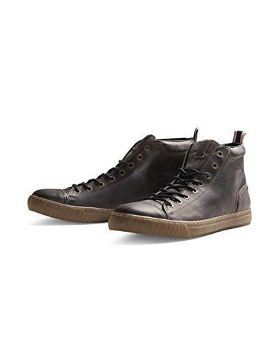 Scarpe uomo high JONES duran da leather JACK sneaker Marrone 5tBUxqnH